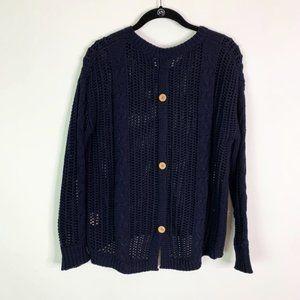 Philosophy Open Knit Sweater Women's Medium